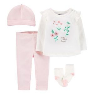 NWT Carter's 4 piece girl outfit